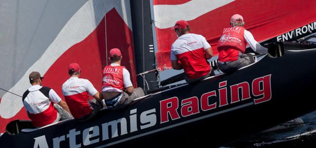 Extreme Sailing Series, la Practice Race secondo Sander van der Borch
