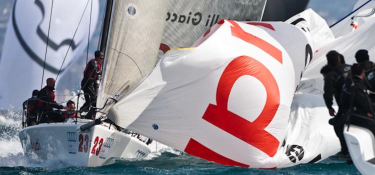Audi Melges 32 Sailing Series, l'evento secondo lo Studio Borlenghi