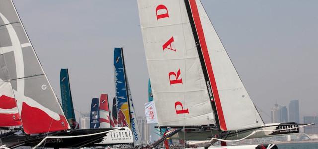 Extreme Sailing Series, Luna Rossa in immagini
