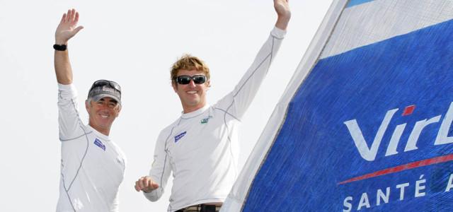 Barcelona World Race, Virbac Paprec 3 in trionfo