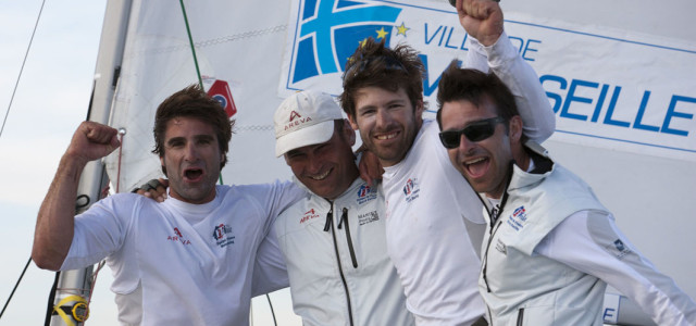 World Match Racing Tour, Damien Iehl re di Marsiglia
