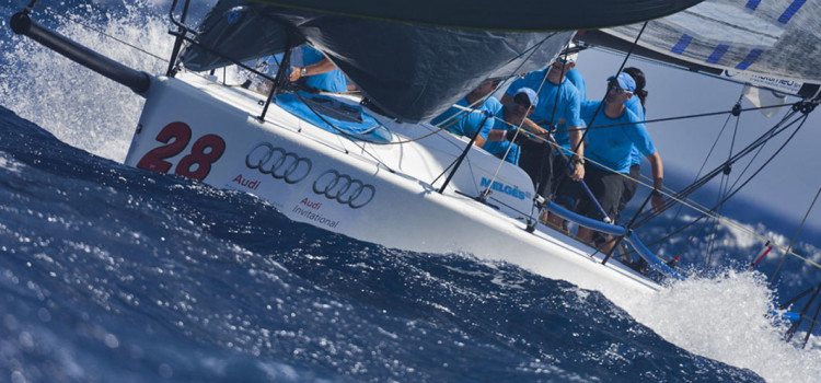 Audi Melges 32 Sailing Series, that's Brontolo