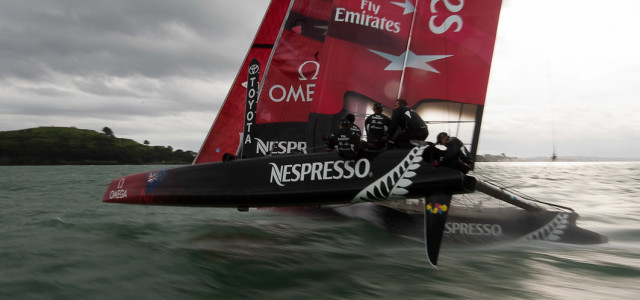 America's Cup, Emirates Team New Zealand presenta la nuova livrea