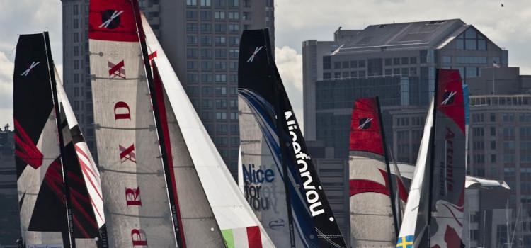 Extreme Sailing Series, Artemis resiste al comando