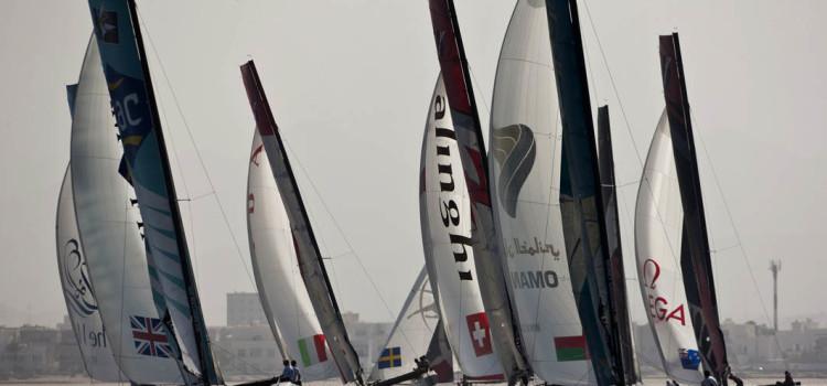 Extreme Sailing Series, la flotta punta Cowes