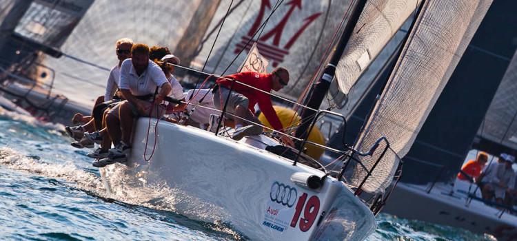 Audi Melges 32 Sailing Series, gli highlights della seconda giornata