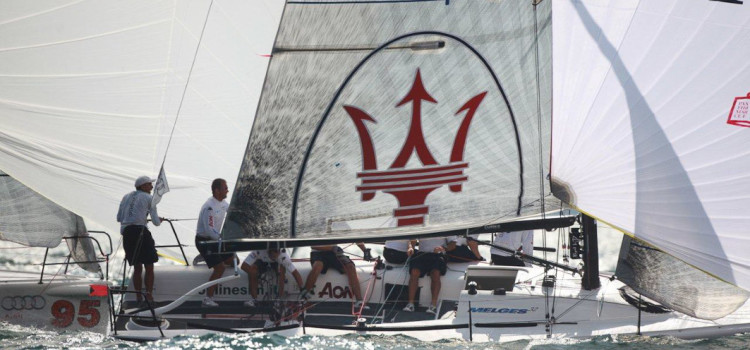 Audi Melges 32 Sailing Series, l'evento secondo Max Ranchi