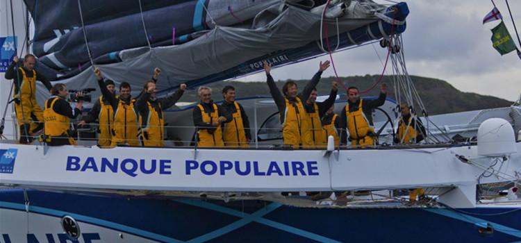 Rolex Fastnet Race, Banque Populaire V a tempo di record