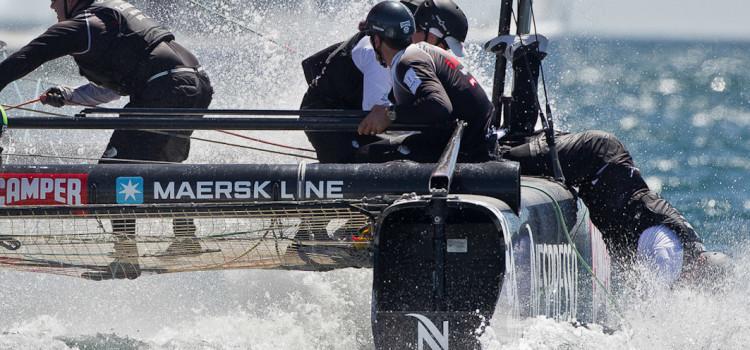 AC World Series, man over board secondo Carlo Borlenghi