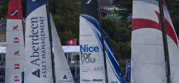 Extreme Sailing Series, Luna Rossa perde la leadership