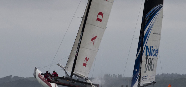 Extreme Sailing Series, Luna Rossa seconda: domani il gran finale