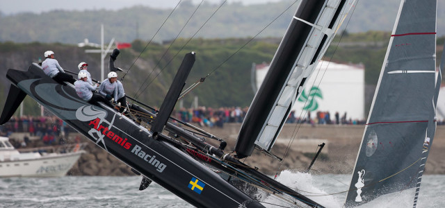AC World Series, la scuffia di Artemis Racing secondo Sander van der Borch
