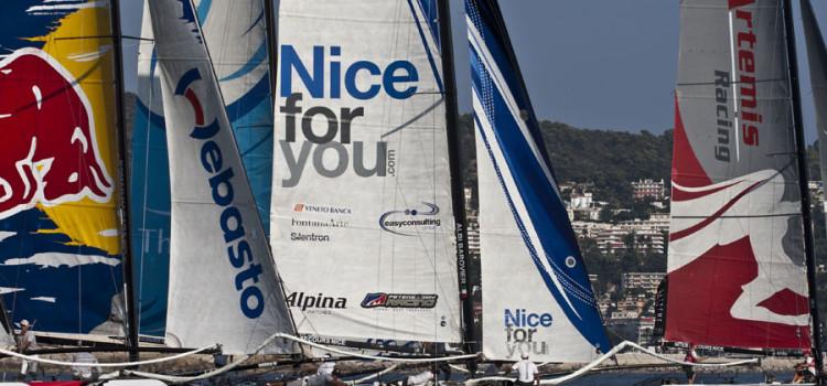 Extreme Sailing Series, vento leggero per la prima giornata