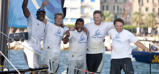 Extreme Sailing Series, a Trapani si impone The Wave Muscat