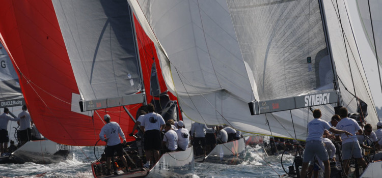 RC44 Championship Tour, subito quattro regate di flotta