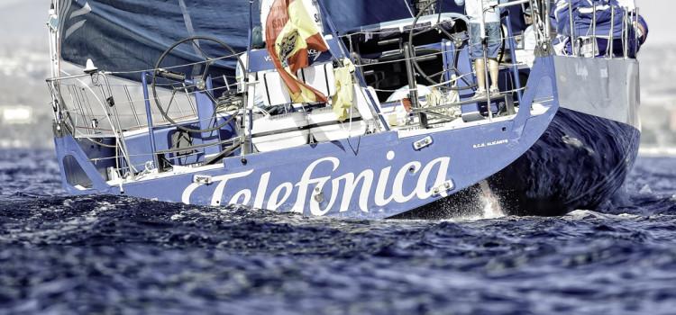 Volvo Ocean Race, Team Telefonica primo all'ormeggio di Alicante