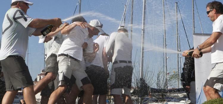 RC44 Championship Tour, Team Aqua re della flotta
