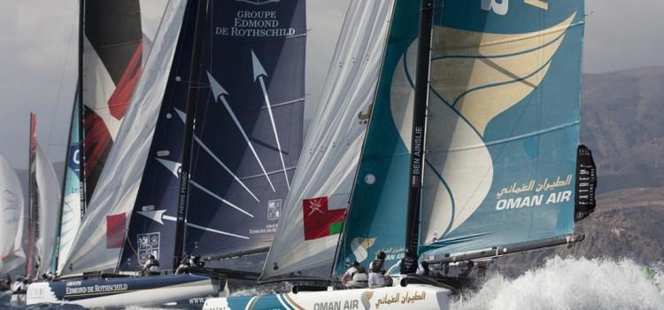 Extreme Sailing Series, i kiwi fanno crash e Alinghi balza in vetta