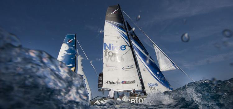 Extreme Sailing Series, a Nizza comanda il poco vento