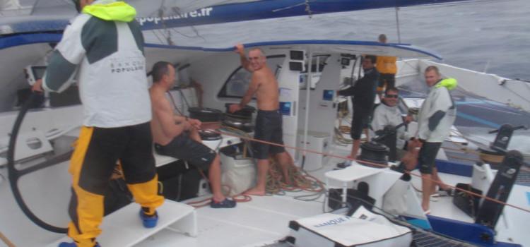 Trofeo Jules Verne, Banque Populaire V mette in tasca il primo record