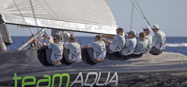 RC44 Championship Tour, Team Aqua e la doppietta