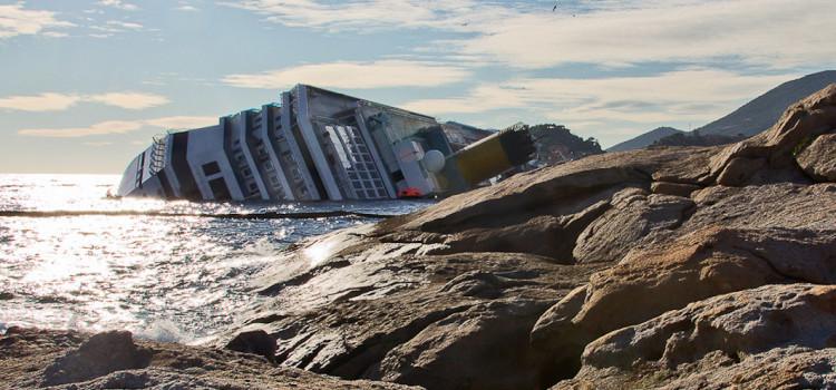 Costa Concordia, in plancia dopo il sinistro: il video