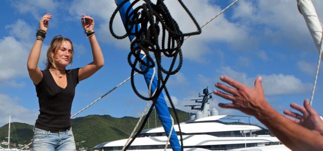 Vela e record, Laura Dekker: la più giovane attorno al globo