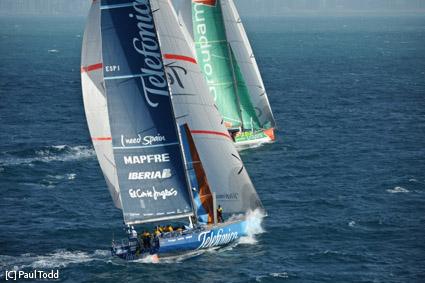 Volvo Ocean Race, di Groupama 4 la prova sprint