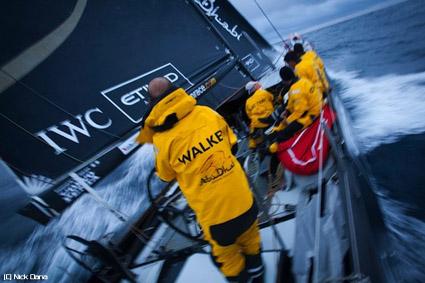 Volvo Ocean Race, danni anche per Abu Dhabi Ocean Racing