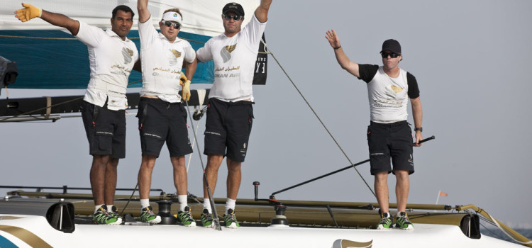 Extreme Sailing Series, di Oman Air il primo sorriso