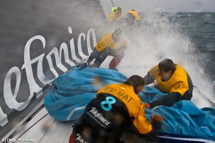 Volvo Ocean Race, una delle notti più difficili
