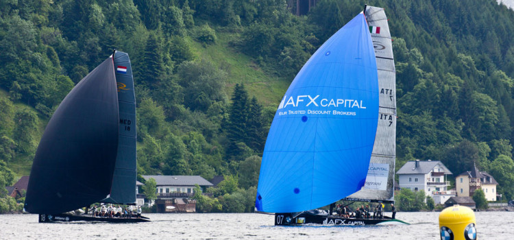 RC44 Championship Tour, AFX Capital Racing Team parte con il piede giusto