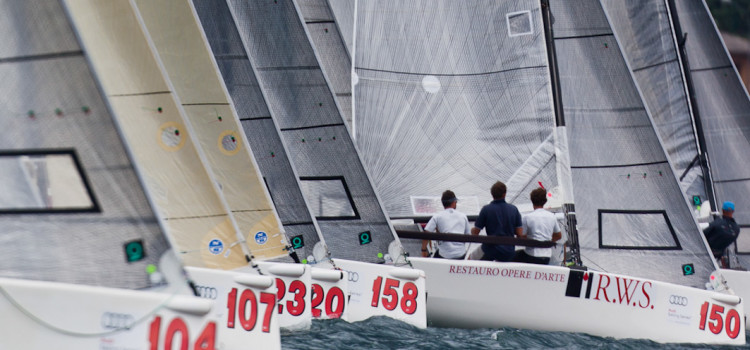 Audi Sailing Series Melges 20, gli highlights della prima giornata