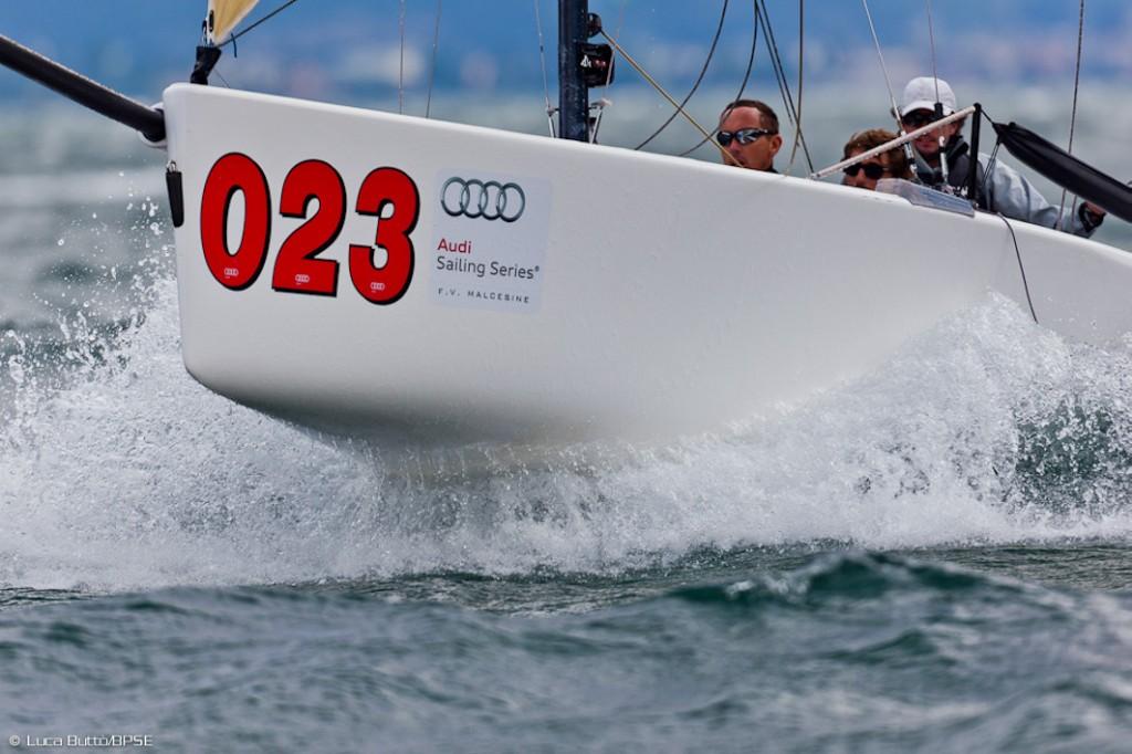 Mascalzone Latino - Audi Sailing Series Melges 20