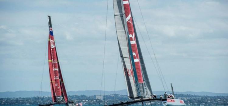 America's Cup, Luna Rossa e i kiwi a braccetto nel golfo di Hauraki