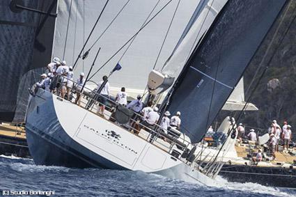 Loro Piana Caribbean Superyacht Regatta, la carica dei venti