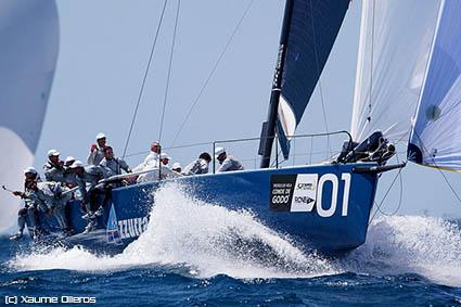 52 Super Series, Azzurra parte da Key West