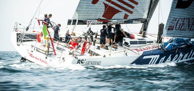 Transpac, Maserati insegue Ragamuffin