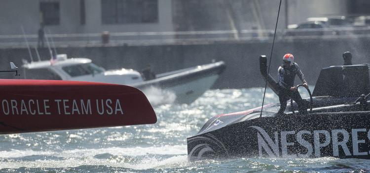 America's Cup, kiwi e statunitensi si spartiscono il bottino