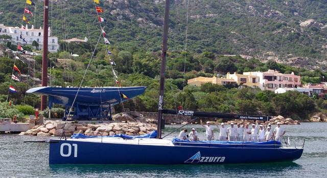 America's Cup Memories, Azzurra torna allo Yacht Club Costa Smeralda
