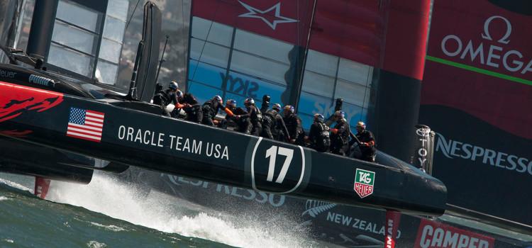 America's Cup, Oracle Team USA mantiene accesa la speranza