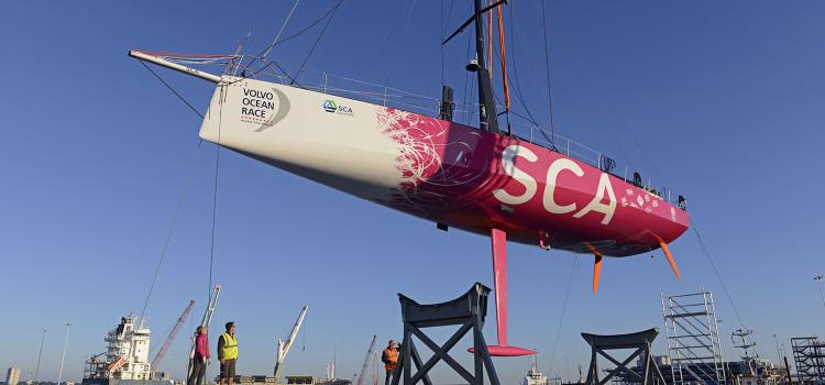 Volvo Ocean Race, il primo VO65 è in acqua