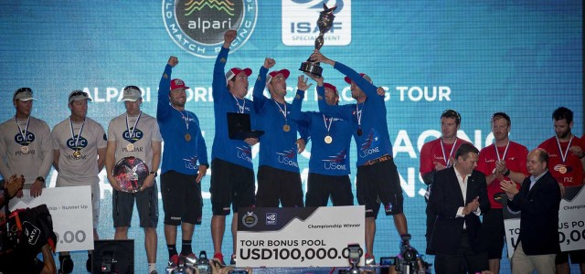 Alpari World Match Racing Tour, here we have the skippers