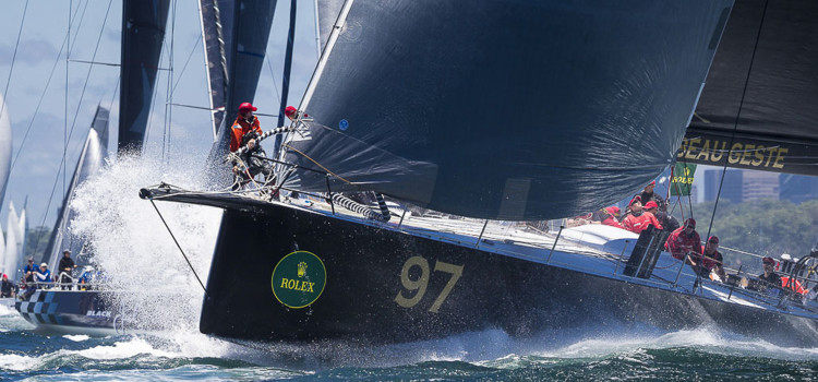 Rolex Sydney-Hobart, the calm before the storm