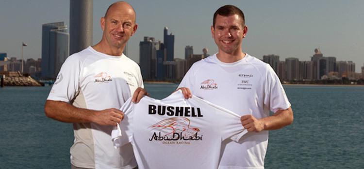 Volvo Ocean Race, Tom Bushell onboard reporter di Abu Dhabi Ocean Racing