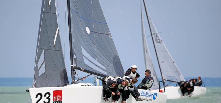 MKB Bank Melges 24 European Championship, sul Balaton splende Blu Moon