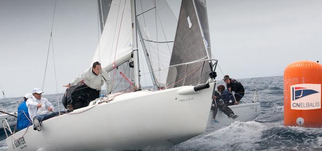 J/80 European Championship, heading to Maresme