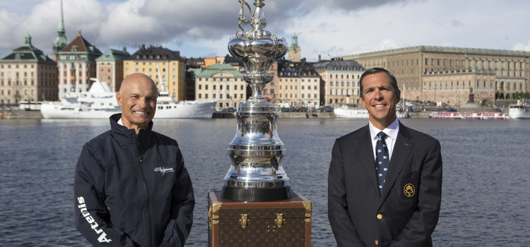 America's Cup, Artemis Racing presents its challenge