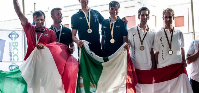 Vaurien World Championship, un successo tutto italiano