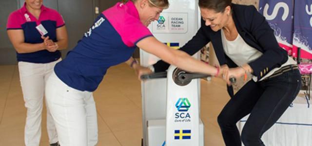 Volvo Ocean Race, la Principessa Vittoria sarà madrina di Team SCA